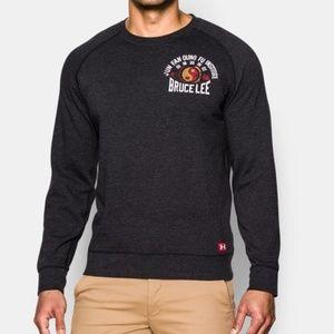 RARE Under Armour Bruce Lee long sleeve sweatshirt